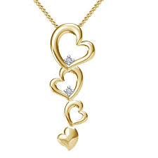 vorra fashion new design heart pendant with 18