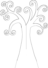 Small Picture Best Photos of Printable Tree Template Bare Tree with Branches