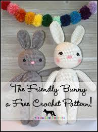 Free Crochet Bunny Pattern Gorgeous Free Crochet Pattern Bunny Amigurumi Thefriendlyredfox