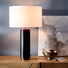 bronze table lamps bronze glass spiral table lamp with linen shade bronze table lamps