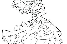 Free Barbie Printable Coloring Pages Barbie Princess Printable