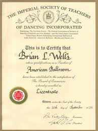 brian s certifications starliters dance studio wilmington  istd licentiate american smooth jpg