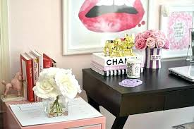 pink black white office black. Pink Office Decor And Gold Bedroom Large Size Of Desk Best Ideas On Cute Black White . U