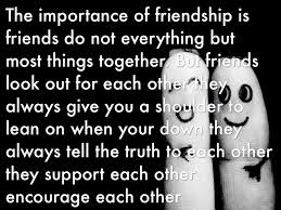 importance of friendship by vinshad vincent importance of friendship