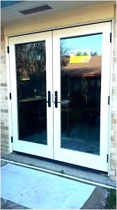 replace sliding glass door with single door french door cost cost of exterior french doors cost replace sliding glass
