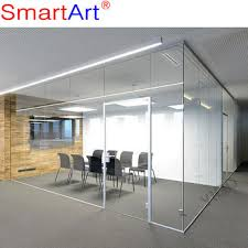 F Tempered Glass Office Door Office Cubicles