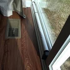 Sliding Door Bar Mark The Length Of The Cross Bar Sliding Glass Door