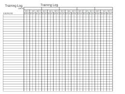 Weight Lifting Journal Template Claff Co