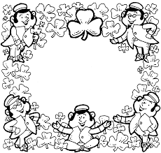 Small Picture St Patricks Day Coloring Pages Dr Odd Coloring Home