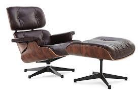 eames lobby chair replica. classic lounge chair \u0026 ottoman brown style eames lobby replica