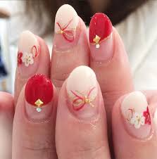 和婚のかわいいネイルデザインおすすめ和ネイルご紹介 京都タガヤ和婚礼