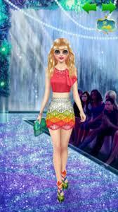 top model dress up and makeup