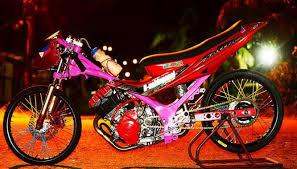 n foto foto motor drag bike