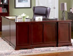 l shaped home office desk. L-Shaped Home Office Desk In Rich Cherry Finish By Coaster - 800572 L Shaped