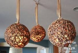 Wicker Balls For Decoration Adorable Rattan Ball Pendant Lights Burlap DenimBurlap Denim