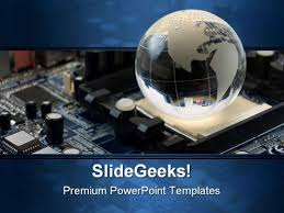 Powerpoint Circuit Theme Check Out This Amazing Template To Make Your Presentations Look Awesome At