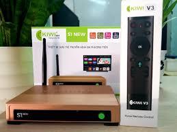 Tivi Box Kiwi S1 New Bản mới 2020 Cập nhập Android 5.0 HỖ TRỢ TÌM KIẾM  GIỌNG NÓI - SẢN PHẨM CHÍNH HÃNG - Android TV Box, Smart Box Thương hiệu  Kiwibox