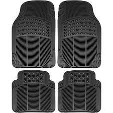 rubber floor mats car.  Floor OxGord 4Piece Full Set Ridged Heavy Duty Rubber Floor Mats Universal Fit  Mat Throughout Mats Car H