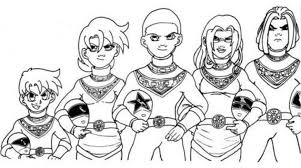 Small Picture 100 ideas Mighty Morphin Power Rangers Coloring Pages on kankanwzcom