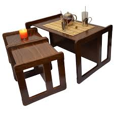 two in one furniture. 3 in 1 adults multifunctional nest of coffee tables set or childrens furniture two small chairs and one large bench d
