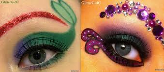 disney ariel vs ursula makeup tutorial