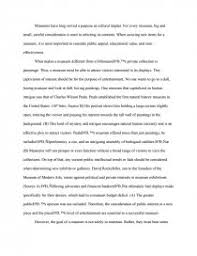 ap synthesis essay museums term papers zoom zoom zoom