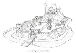 Small Picture Castle Colouring Pages