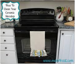clean your ceramic stovetop