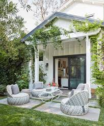 This created a colonnaded walkway around the perimeter of the courtyard, which influenced monastic structures centuries later. 55 Inspiring Patio Ideas Gorgeous Small Patio Designs