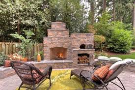 outdoor fireplace and pizza oven example of a classic home design design in outdoor fireplace pizza outdoor fireplace and pizza oven