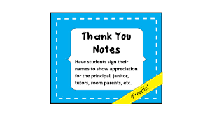 example of thank you letter for teachers from students cover thank you notes bie