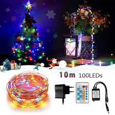 Innoolight Led Lichterkette10m 100er Led Kupferdraht Lichterketten