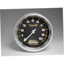tachometers gauges car truck parts auto meter 4798 c f 3 3 8in 10000rpm in dash tach