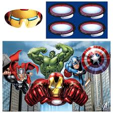 Avengers Party Decorations Avengers Party Pack Walmartcom