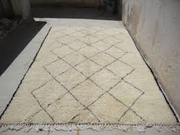 lovely vintage moroccan beni ourain rug jpg