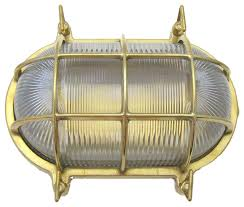 small oval cage light solid brass interior exterior use by shiplights traditional outdoor