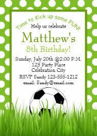 Soccer Party Invitations Soccer Birthday Invitations Zazzle