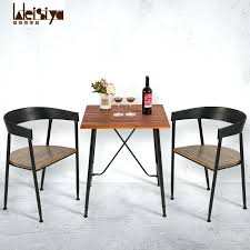 coffee table chairs village loft combination of solid wood tables and chairs iron art coffee table