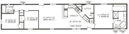Single Wide Mobile Home Floor Plans 2 Bedroom Single Wide Mobile Home Floor Plans Skyline Single Wide Mobile