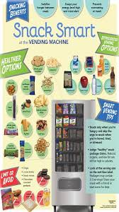 Healthy Snacks For Vending Machines Best Snack Smart At The Vending Machine Poster