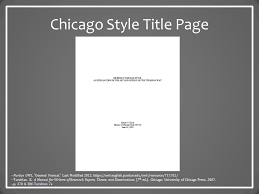 Movie Titles In Essays Chicago Style