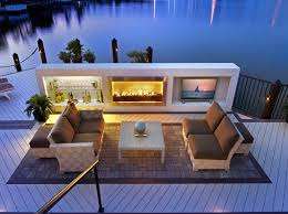 magnificent outdoor fireplace with tv 22 lomets