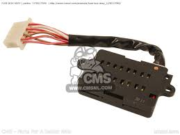 fuse box assy xs750 1979 3g9 europe 293g9 300e1 1j78217040 small image of fuse box assy