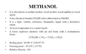 Methanol Production