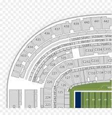 seat number michigan stadium seat map