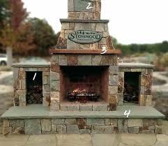precast outdoor fireplace concrete firth