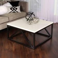 Kate and laurel mendel round metal coffee table. Kate And Laurel Kaya Square Coffee Table Bed Bath Beyond