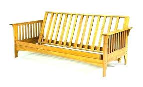 wood futon frame futon wood futon frame assembly instructions