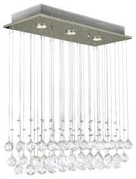 raindrop crystal ball ceiling lamp