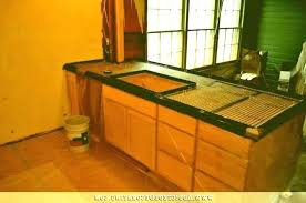 brainy pour in place concrete countertops or diy poured concrete countertops pour in place concrete forms